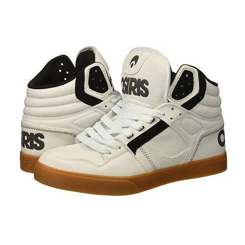 Męskie obuwie sportowe, buty OSIRIS - Clone White/Charcoal/Gum (2643) rozmiar: 45