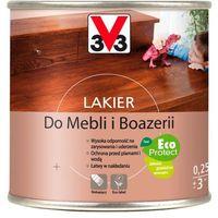 Lakiery, Lakier do mebli V33 dąb rustykalny satyna 0,25 l