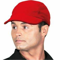 CZFREE czapka daszkiem na rzep czerwona letnia RED