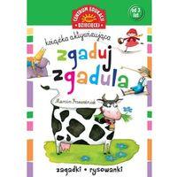 Książki dla dzieci, Zgaduj-zgadula. Książka aktywizująca (opr. miękka)