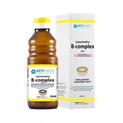 ACTINOVO Liposomalna Witamina B Complex 100% bez alkoholu - 250ml (50 dni)