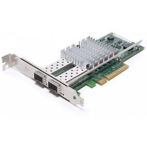 Karty sieciowe, INTEL E10G42BTDABLK X520-DA2 Server Adapter 2Port 10GbE Direct Attach Dual Port Copper PCIe x8 x16 low profile full height bulk