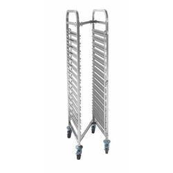 Wózek do transportu pojemników i tac | 15x GN1/1 | 550x380x(H)1700mm