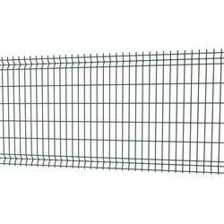 Panel ogrodzeniowy Betafence 3D 123 x 250 cm oczko 5 x 20 cm drut 4 mm ocynk zielony