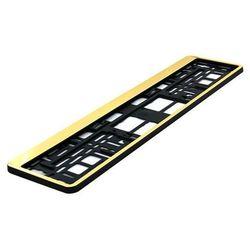 Ramka pod tablicę rejestracyjną HP Złota 1 szt - Złoty