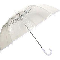 Parasol smati przezroczysty biały 12 żeber