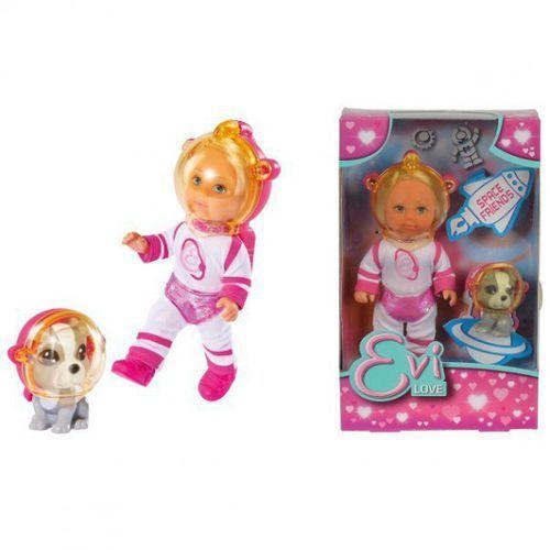 Lalki dla dzieci, EVI Astronauta z psem