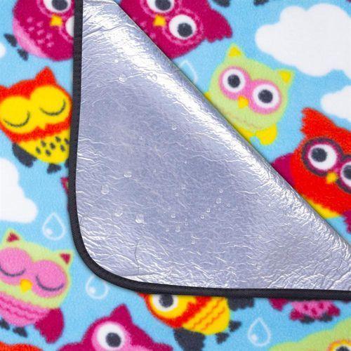 Koce i pledy, Koc piknikowy SPOKEY Picnic Owl (180x210 cm)