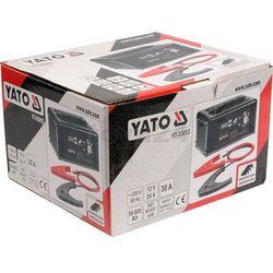Prostownik elektroniczny 12/24v 30a z funkcją wspomagania rozruchu / YT-83052 / YATO - ZYSKAJ RABAT 30 ZŁ