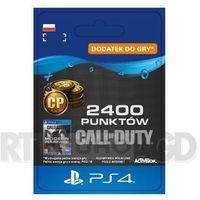 Klucze i karty pre-paid, Call of Duty: Modern Warfare 2400 Punktów [kod aktywacyjny] PS4
