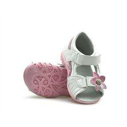 Sandałki dziecięce Kornecki 04737 Białe lico