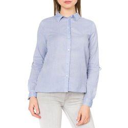 Tom Tailor Koszula Niebieski Biały 36 Przy zakupie powyżej 150 zł darmowa dostawa.