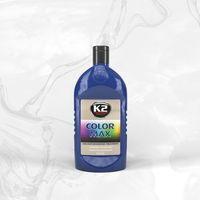 Wosk samochodowe, COLOR MAX 500 NIEBIESKI wosk koloryzujący nabłyszcza i chroni - 500ml