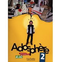 Pozostałe książki, Adosphere 2 Podręcznik ucznia + CD Poletti Marie-Laure, Himber Celine