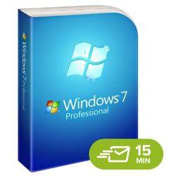 Windows 7 Professional, licencja elektroniczna 32/64 bit