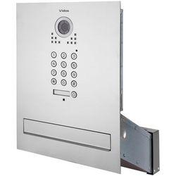 Skrzynka na listy VIDOS S561D-SK z wbudowanym wideodomofonem