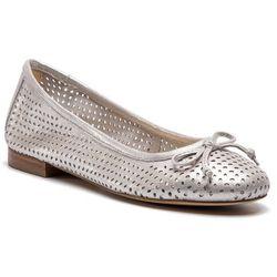Baleriny CAPRICE - 9-22101-22 Silver Sue.Met 924