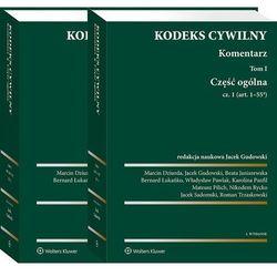 Pakiet kodeks cywilny. komentarz. tom 1. część ogólna. cz. 1 i 2 (opr. twarda)