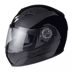KASK SCORPION EXO-500 AIR BLACK GLOSS