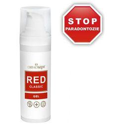 ORTHOSEPT RED Classic żel na paradontozę z chlorheksydyną 0,2% - 30ml