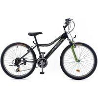 """Rowery górskie, Rowerland Rower R'Land MTB 26"""" CONVAIR czarny-zielony - czarno-zielony"""