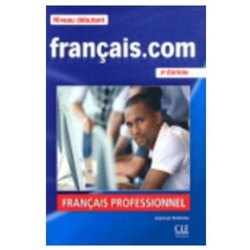 Książki do nauki języka, Francais.com 1 podręcznik /CD gratis/ (opr. miękka)