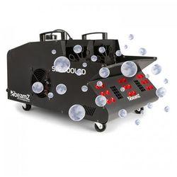 beamZ SB2000LED Wytwornica mgły/baniek mydlanych 2000 W zbiornik 1,35 l diody LED RGB DMX