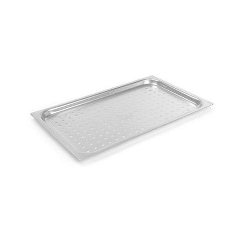 Kosze i pojemniki gastronomiczne, Hendi Pojemnik aluminiowy GN perforowany, GN 1/1-20mm - kod Product ID