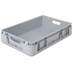 Pojemnik przemysłowy,poj. 20 l, dł. x szer. x wys. 600 x 400 x 120 mm, opak. 5 szt.