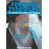 Socjologia, Fenomen żydowski. Ze studiów nad etniczną... (opr. broszurowa)