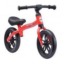 Rowerki biegowe, Rowerek biegowy 10 eva BIKESTAR obracana rama 2w1 lekki 3kg czerwony