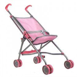 Wózek dla lalek parasolka różowa mega creative 438317