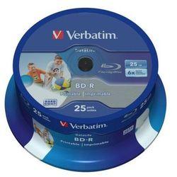 Płyty Verbatim BD-R SL Datalife 25GB 25 szt.