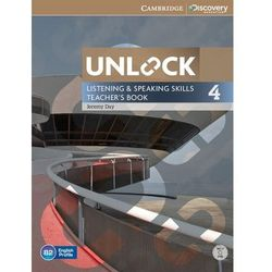 Unlock Level 4 Listening and Speaking Skills Teachers Book with DVD (opr. miękka)