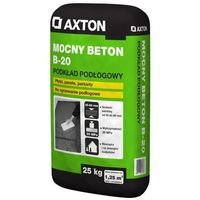 Wylewki, Wylewka betonowa MOCNY BETON B-20 25kg AXTON