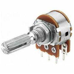 MONACOR VRA-141S100 Potencjometr logarytmiczny stereo, 100kΩ