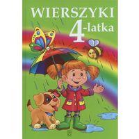 Książki dla dzieci, Wierszyki 4-latka (opr. twarda)