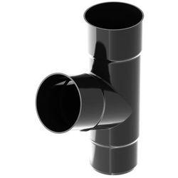 Trójnik Ocean 90 x 90 x 90 mm czarny
