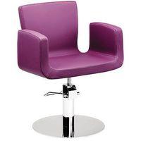 Meble fryzjerskie, Ayala AURUM 01 fotel fryzjerski na pompie hydraulicznej z możliwością wyboru podstawy