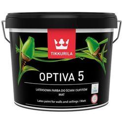 TIKKURILA OPTIVA 5 MATT, baza A, 9.0 L (Farba lateksowa)