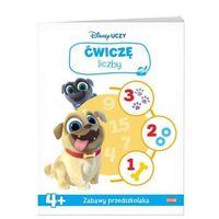 Książki dla dzieci, Disney uczy Bingo i Rolly w akcji Ćwiczę liczby - Praca zbiorowa (opr. broszurowa)