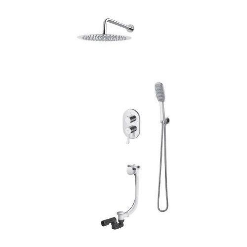 Vedo cento zestaw prysznicowy z napełnianiem przez przelew vbc1232 20cm dodatkowe 5% rabatu na kod ved5
