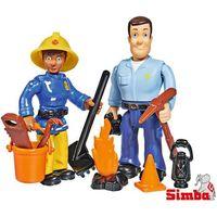 Figurki i postacie, Simba Zestaw 2 figurek Strażak Sam, 4 rodzaje MIX