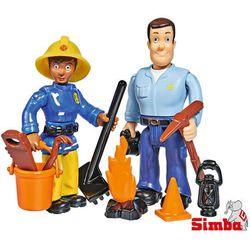 Simba Zestaw 2 figurek Strażak Sam, 4 rodzaje MIX