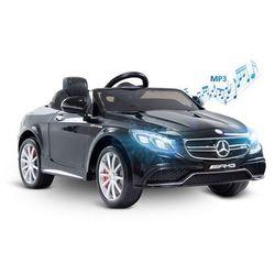 Pojazd samochód dziecięcy na akumulator + Pilot Mercedes AMG S63 Black