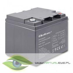 Qoltec Akumulator AGM   12V   45Ah   max. 13.5A
