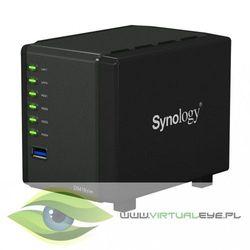 Synology NAS DS419slim 4x0Hdd 512MB 1,33Ghz 2xUSB3.0 2xRJ45