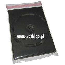 Koperty foliowe na pudełko DVD 14mm 152x200mm 50 mikron 100szt.