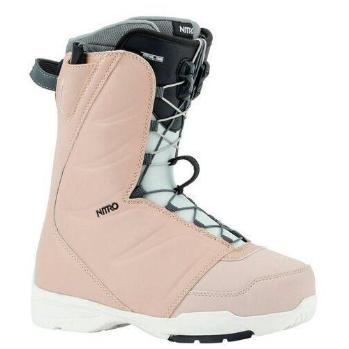 Buty do snowboardu, buty NITRO - Flora Tls Rose (002) rozmiar: 260