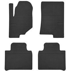 Dywaniki samochodowe gumowe czarne SsangYong Rexton od 2017